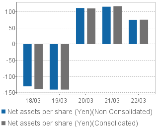 Net asset value per share