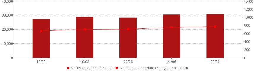 Net assets /Net assets per share